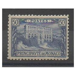 Monaco - Varieties - 1922 - Nb 58a