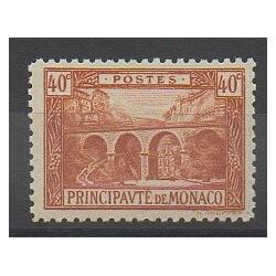 Monaco - Varieties - 1922 - Nb 57a