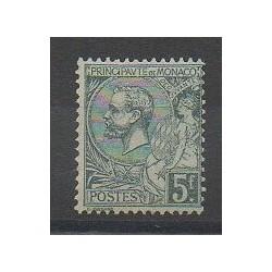 Monaco - Variétés - 1920 - No 47a - Neuf avec charnière
