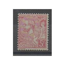 Monaco - Varieties - 1891 - Nb 21a