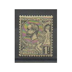Monaco - Varieties - 1891 - Nb 20a - Mint hinged