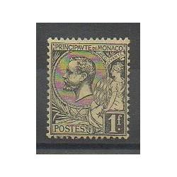 Monaco - Varieties - 1891 - Nb 20a - Mint hinged