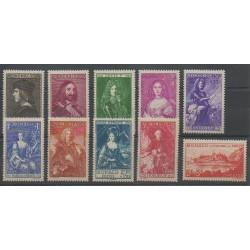 Monaco - 1939 - Nb 185/194