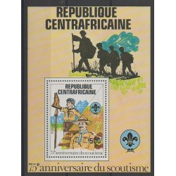Central African Republic - 1982 - Nb BF53 - Scouts