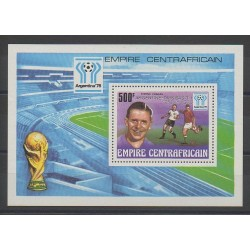 Centrafricaine (République) - 1978 - No BF27 - Coupe du monde de football