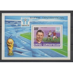 Central African Republic - 1977 - Nb BF20 - Soccer World Cup