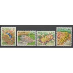 Vanuatu - 1985 - Nb 727/730 - Sea life