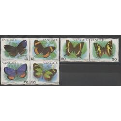 Vanuatu - 1983 - No 666/671 - Papillons