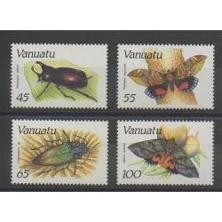 Vanuatu - 1987 - Nb 784/787 - Butterflies