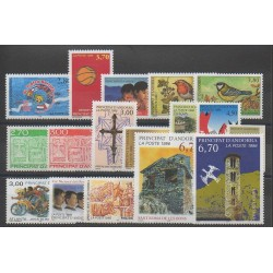 French Andorra - 1996 - Nb 467/483