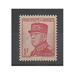 Monaco - Variétés - 1937 - No 163a