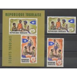 Togo - 1968 - Nb PA100/PA101 - BF33 - Scouts