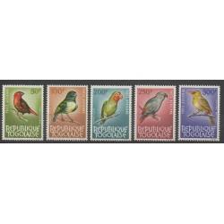 Togo - 1964 - Nb PA39/PA42 - Birds