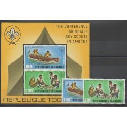 Togo - 1973 - No PA200/PA201 - BF69 - Scouts