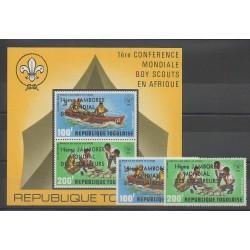 Togo - 1975 - No PA270/PA271 - BF91 - Scouts