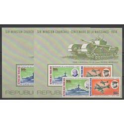 Togo - 1974 - No PA241/PA242 - BF84/BF84a - Seconde Guerre Mondiale