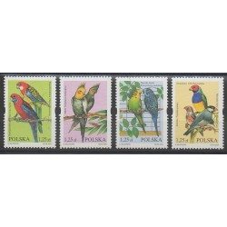 Pologne - 2004 - No 3868/3871 - Oiseaux