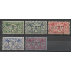 Nouvelles-Hébrides - 1925 - No T6/T10 - Oblitéré