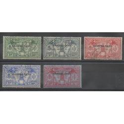 Nouvelles-Hébrides - 1925 - No T1/T5 - Oblitéré