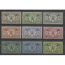 Nouvelles-Hébrides - 1925 - No 91/99 - Neuf avec charnière