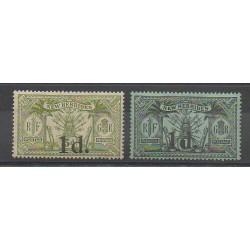 Nouvelles-Hébrides - 1920 - No 64/65 - Neuf avec charnière