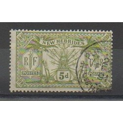 Nouvelles-Hébrides - 1911 - No 53 - Oblitéré