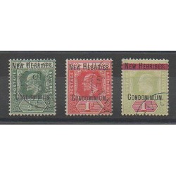 New Hebrides - 1908 - Nb 12/14 - Used