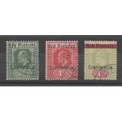 Nouvelles-Hébrides - 1908 - No 12/14 - Oblitéré