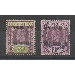 New Hebrides - 1911 - Nb 24/25 - Used
