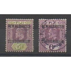 Nouvelles-Hébrides - 1911 - No 24/25 - Oblitéré