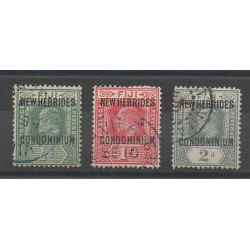 New Hebrides - 1911 - Nb 20/22 - Used