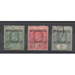 Nouvelles-Hébrides - 1911 - No 20/22 - Oblitéré