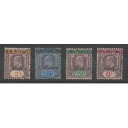Nouvelles-Hébrides - 1908 - No 7/10 - Oblitéré