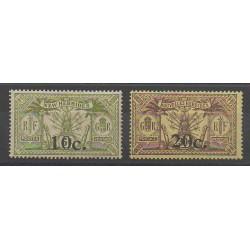 Nouvelles-Hébrides - 1920 - No 61/62 - Neuf avec charnière