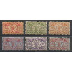 New Hebrides - 1911 - Nb 43/48 - Mint hinged