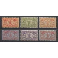 Nouvelles-Hébrides - 1911 - No 43/48 - Neuf avec charnière