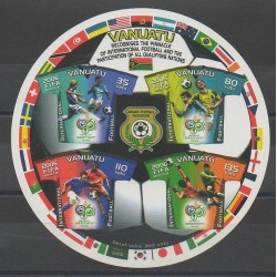 Vanuatu - 2006 - No BF56 - Coupe du monde de football