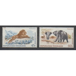 Togo - 1967 - No PA81/PA82 - Animaux