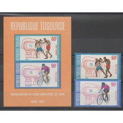 Togo - 1969 - Nb PA107/PA108 - BF36 - Various sports