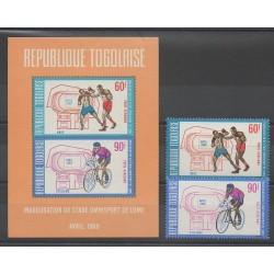Togo - 1969 - No PA107/PA108 - BF36 - Sports divers
