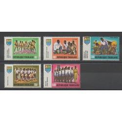 Togo - 1969 - Nb PA117/PA121 - Scouts