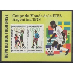 Togo - 1978 - Nb BF118 - Soccer World Cup