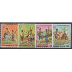 Togo - 1982 - Nb PA467/PA470 - Scouts
