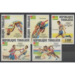 Togo - 1984 - No PA502/PA506 - Jeux Olympiques d'été