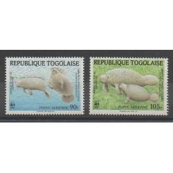 Togo - 1984 - No PA515/PA516 - Vie marine