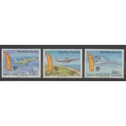 Togo - 1985 - No 531/533 - Avions