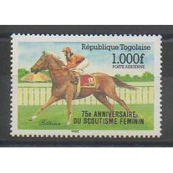 Togo - 1986 - Nb PA579 - Various sports
