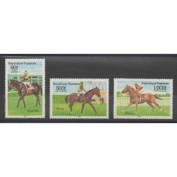 Togo - 1985 - No PA548/PA550 - Sports divers - Chevaux