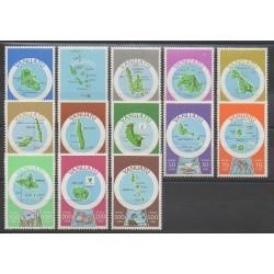 Vanuatu - 1980 - No 596/608