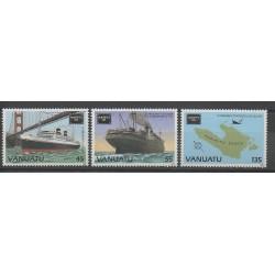 Vanuatu - 1986 - No 740/742 - Bateaux